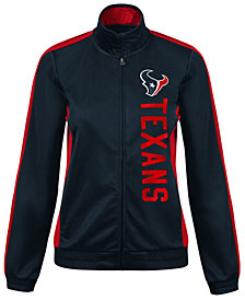 G-III Sports Women's Houston Texans Backfield Track Jacket