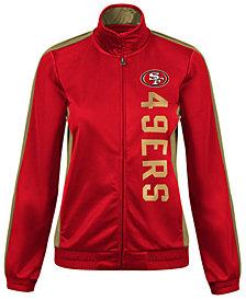 G-III Sports Women's San Francisco 49ers Backfield Track Jacket