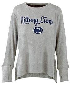 Pressbox Women's Penn State Nittany Lions Cuddle Knit Sweatshirt