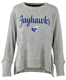 Women's Kansas Jayhawks Cuddle Knit Sweatshirt