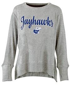 Women's Kansas Jayhawks Cuddle Knit Sweatshirt