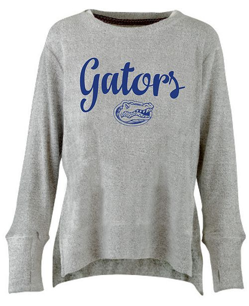 Pressbox Women's Florida Gators Cuddle Knit Sweatshirt