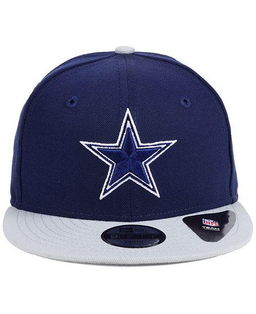 e4a3372b9 ... Snapback Cap  New Era Boys  Dallas Cowboys Two Tone 9FIFTY Snapback ...