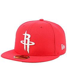 New Era Houston Rockets Basic 59FIFTY Fitted Cap 2018