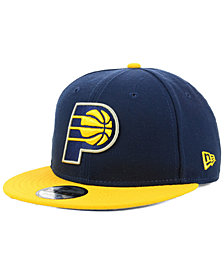 New Era Indiana Pacers Basic 2 Tone 9FIFTY Snapback Cap
