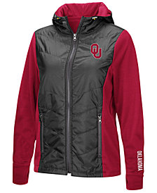 Colosseum Women's Oklahoma Sooners Mogul Full-Zip Jacket