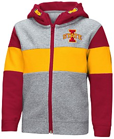 Colosseum Iowa State Cyclones Colorblocked Full-Zip Sweatshirt, Toddler Boys (2T-4T)