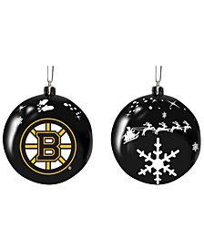 "Memory Company Boston Bruins 3"" Sled Glass Ball"
