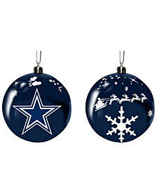 "Memory Company Dallas Cowboys 3"" Sled Glass Ball"