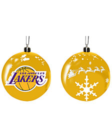 "Memory Company Los Angeles Lakers 3"" Sled Glass Ball"