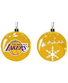 "Memory Company Los Angeles Lakers 3"" Sled Glass Ball"