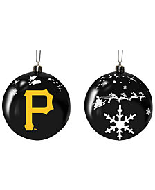 "Memory Company Pittsburgh Pirates 3"" Sled Glass Ball"