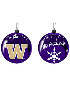 "Memory Company Washington Huskies 3"" Sled Glass Ball"