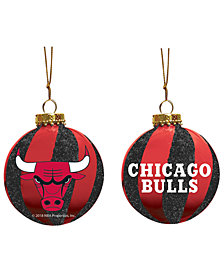 "Memory Company Chicago Bulls 3"" Sparkle Glass Ball"