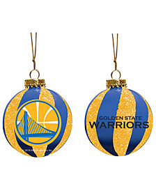 "Memory Company Golden State Warriors 3"" Sparkle Glass Ball"