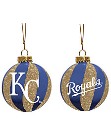 "Memory Company Kansas City Royals 3"" Sparkle Glass Ball"
