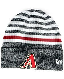 Arizona Diamondbacks Striped Cuff Knit Hat