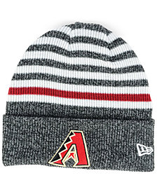 New Era Arizona Diamondbacks Striped Cuff Knit Hat