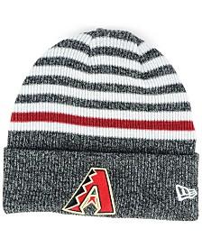 New Era Arizona Diamondbacks Striped Cuff Knit Hat
