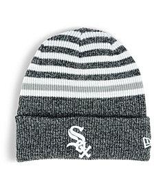 New Era Chicago White Sox Striped Cuff Knit Hat