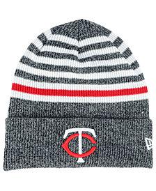 New Era Minnesota Twins Striped Cuff Knit Hat
