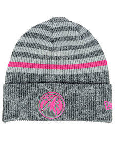 New Era Minnesota Timberwolves Striped Cuff Knit Hat
