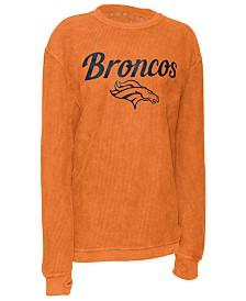 Pressbox Women's Denver Broncos Comfy Cord Top