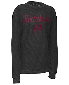 Pressbox Women's Washington Redskins Comfy Cord Top