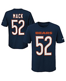 Khalil Mack Chicago Bears Pride Name and Number 3.0 T-Shirt, Big Boys (8-20)