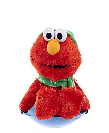 Kurt Adler Sesame Street Battery-Operated Plush Cutie Elmo Animated Musical Table Piece