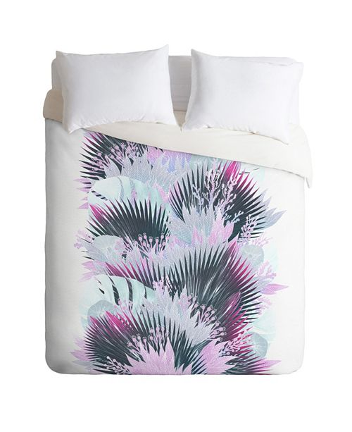 Deny Designs Iveta Abolina Tropical Reef Twin Duvet Set