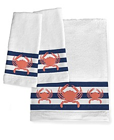 Crab Stripe Bath Towel