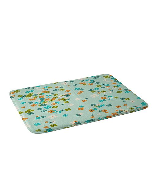 Deny Designs Heather Dutton Delilah Blue Bath Mat