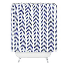 Deny Designs Holli Zollinger Nautical Lines Shower Curtain
