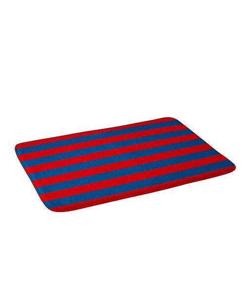 Deny Designs Holli Zollinger Rugby Stripe Bath Mat