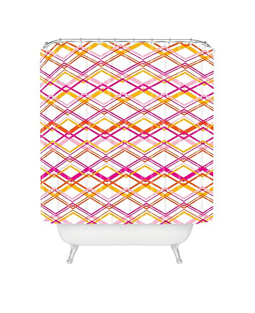 Deny Designs Heather Dutton Intersection Bright Shower Curtain