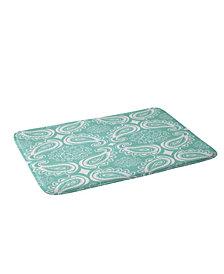 Deny Designs Heather Dutton Plush Paisley Seaspray Bath Mat