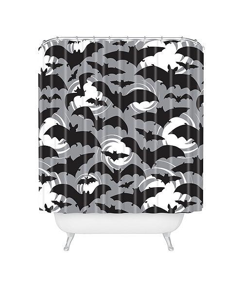 Deny Designs Heather Dutton Night Watch Shower Curtain