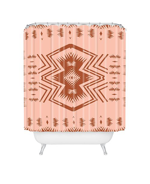Deny Designs Holli Zollinger Colorado Blush Shower Curtain