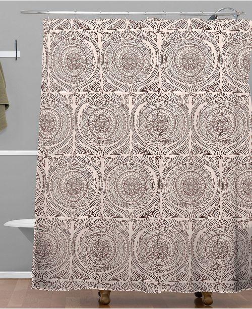 Deny Designs Holli Zollinger Anthology Of Pattern Elle Sundial Light Shower Curtain