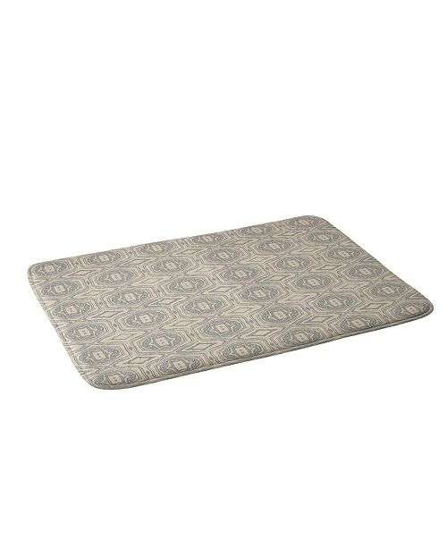 Deny Designs Holli Zollinger Anthology Of Pattern Seville Marble Grey Bath Mat
