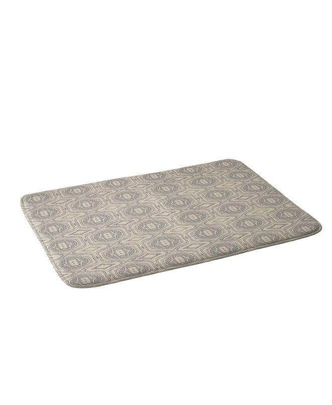 Deny Designs Holli Zollinger Anthology Of Pattern Seville Marble Grey Bath Mat