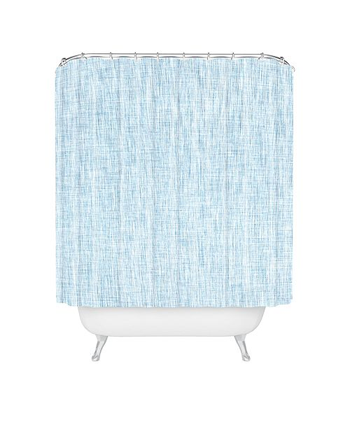 Deny Designs Holli Zollinger Linen Acid Wash Shower Curtain