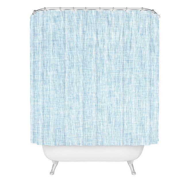 Deny Designs Holli Zollinger Linen Acid Wash Shower Curtain