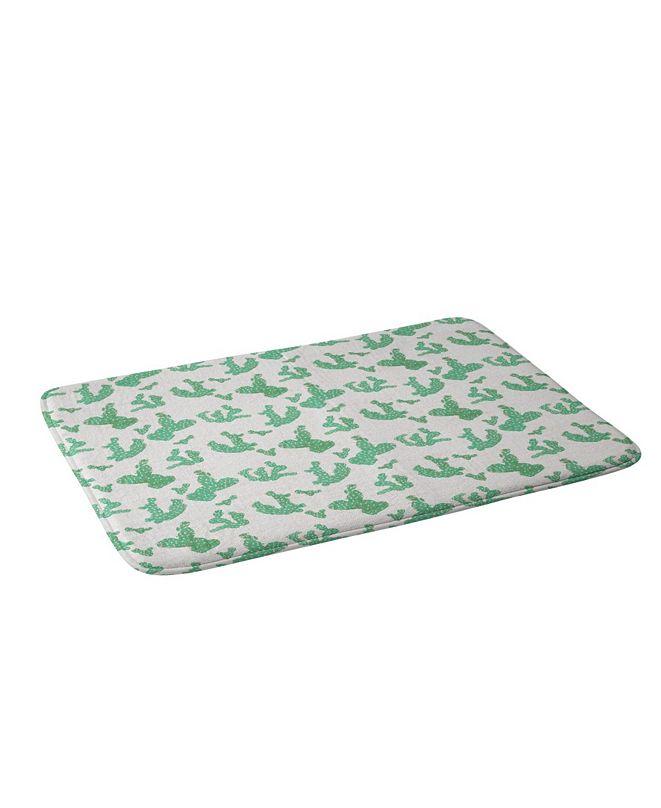 Deny Designs Holli Zollinger French Linen Sedona Cactus Bath Mat