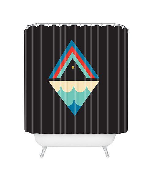 Deny Designs Holli Zollinger Zodiac Pisces Shower Curtain