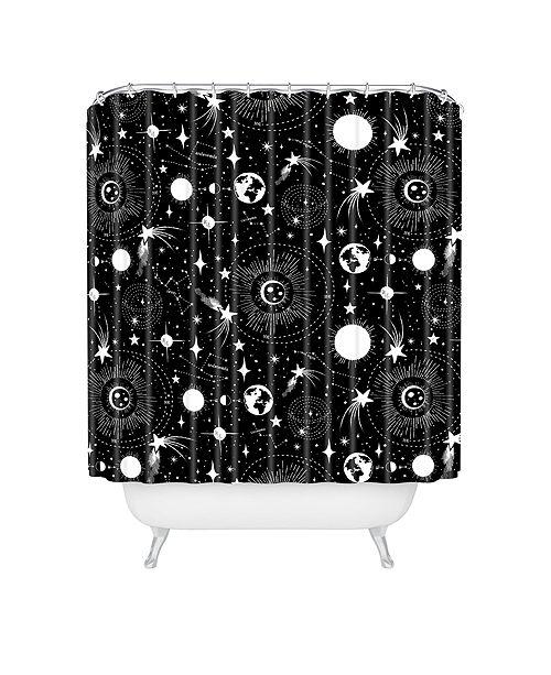 Deny Designs Heather Dutton Solar System Shower Curtain