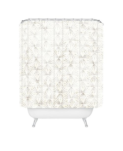 Deny Designs Holli Zollinger Sunburst Light Shower Curtain