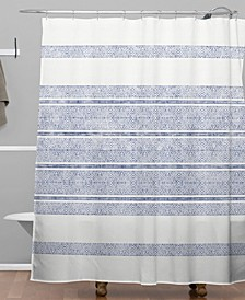 Holli Zollinger Capri Stripes Shower Curtain