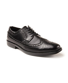 Deer Stags Men's Memory Foam Dress Taylor Dress Comfort Classic Wingtip Oxford
